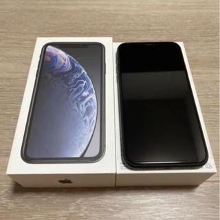 美品 iPhone XR 128GB BLACK(スマートフォン本体)