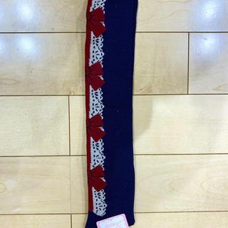 Shirley Temple - シャーリーテンプル   靴下 新品未使用 19ー21   リボン ドット