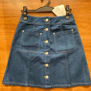 ハニーミーハニー(Honey mi Honey)のdenim miniskirt(ミニスカート)