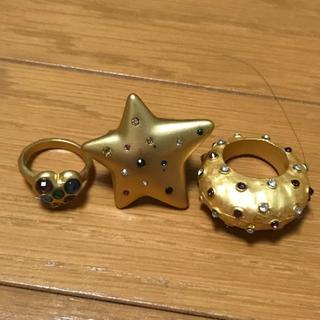 ザラ(ZARA)のZARA ザラ ゴールドリング SET(リング(指輪))