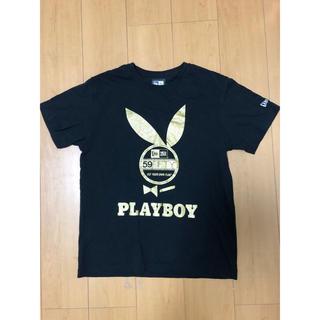 ニューエラー(NEW ERA)のNEWERA PLAYBOY コラボTシャツ ニューエラ プレイボーイ(Tシャツ/カットソー(半袖/袖なし))