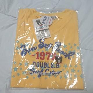 ダブルビー(DOUBLE.B)の【新品】ミキハウス ダブルB SunSetBeach半袖Tシャツ  110(Tシャツ/カットソー)