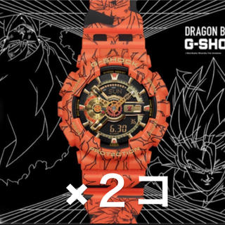 G-SHOCK ドラゴンボール コラボ 新品未使用 腕時計 2個セット(腕時計(デジタル))