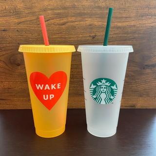 Starbucks Coffee - スターバックス タンブラー リユーザブル コールドカップ 2個セット 海外限定