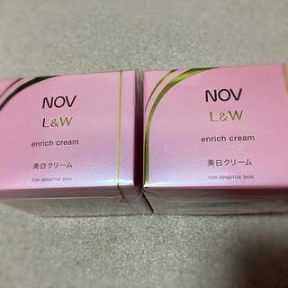 ノブ(NOV)のノブ NOV L&W  エンリッチ 美白クリーム 2個セット (フェイスクリーム)