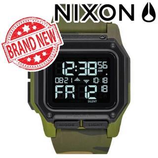 ニクソン(NIXON)のNIXON ニクソン Regulus レグルス 腕時計 迷彩柄(腕時計(デジタル))