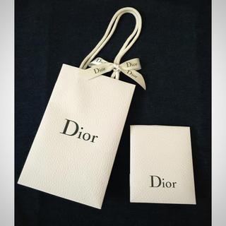 ディオール(Dior)のディオール ショップ袋&サンプル袋セット(ショップ袋)