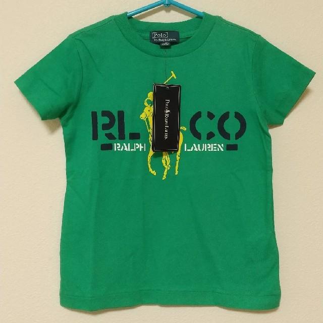 POLO RALPH LAUREN(ポロラルフローレン)の未使用☆ポロラルフローレンTシャツ キッズ/ベビー/マタニティのキッズ服男の子用(90cm~)(Tシャツ/カットソー)の商品写真