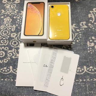 アイフォーン(iPhone)のiPhone XR 64GB イエロー(スマートフォン本体)