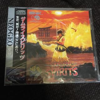 エスエヌケイ(SNK)のNEO-GEO CD  サムライスピリッツ 未開封(家庭用ゲームソフト)