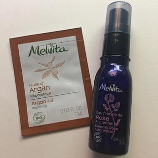 メルヴィータ(Melvita)のメルヴィータ フラワーウォーターリセットミスト&ビオオイルスキンオイル 化粧水(サンプル/トライアルキット)