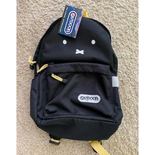 OUTDOOR - 新品 タグ付 ミッフィ outdoor リュック 黒