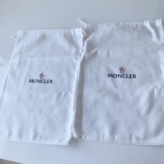 モンクレール(MONCLER)のモンクレール 保存袋 2枚セット(ショップ袋)