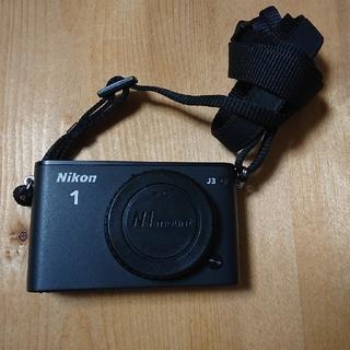 ニコン(Nikon)のミラーレス一眼カメラ Nikon 1 J3 本体のみ(ミラーレス一眼)