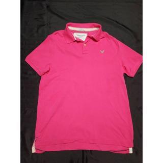 アメリカンイーグル(American Eagle)のアメリカンイーグル ポロシャツ 20年以上前の商品 レア品 メンズ 訳あり(ポロシャツ)