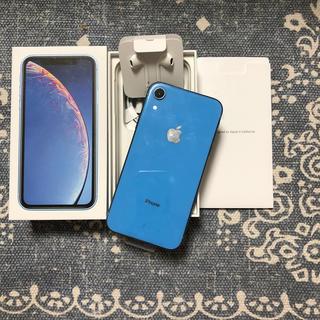 アイフォーン(iPhone)のiPhone XR 64GB  ブルー(スマートフォン本体)