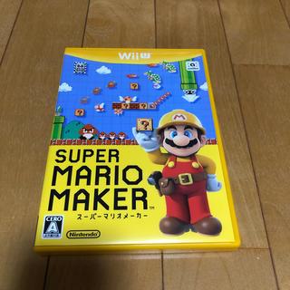 ウィーユー(Wii U)のwiiu スーパーマリオメーカー(家庭用ゲームソフト)