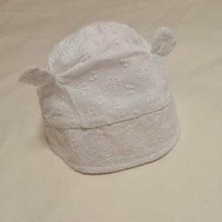 ベビーギャップ(babyGAP)のbaby GAP くま耳 帽子 夏向け 0-6ヶ月 44cm(帽子)