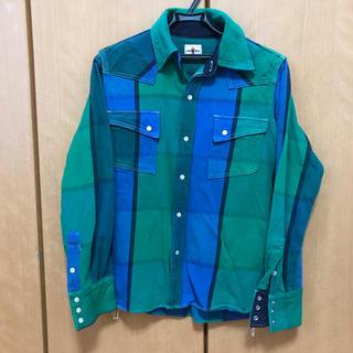 サムライ(SAMOURAI)の激レア サムライ ネルシャツ チェックシャツ(シャツ)