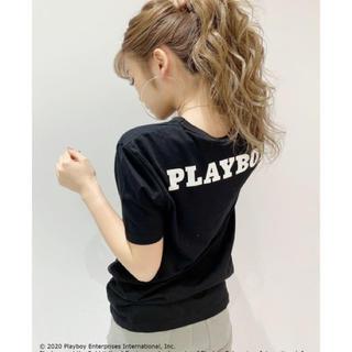 ジェイダ(GYDA)のGYDA 新品 PLAYBOY BunnyGirlポケットTシャツ(Tシャツ(半袖/袖なし))