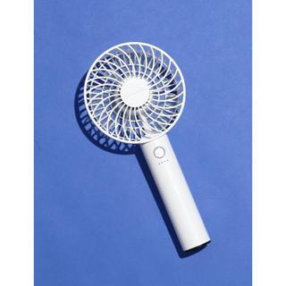 アフタヌーンティー(AfternoonTea)の新品 Afternoon Tea スタンダードハンディファン 扇風機 ホワイト(扇風機)