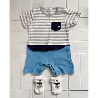 POLO RALPH LAUREN - polo baby ポロベビー ロンパース Tシャツ パンツ 靴下 ボーダー