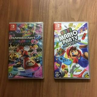 Nintendo Switch - 【新品未開封】マリオカート8デラックス マリオパーティ セット Switch