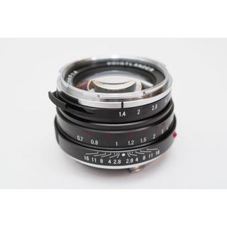 ライカ(LEICA)のVoigtlander nokton classic 40mm +lh-6(レンズ(単焦点))