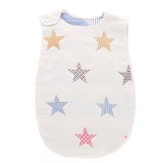 スリーパー ガーゼスリーパー ベビー 赤ちゃん用スリーパー 星柄 夏