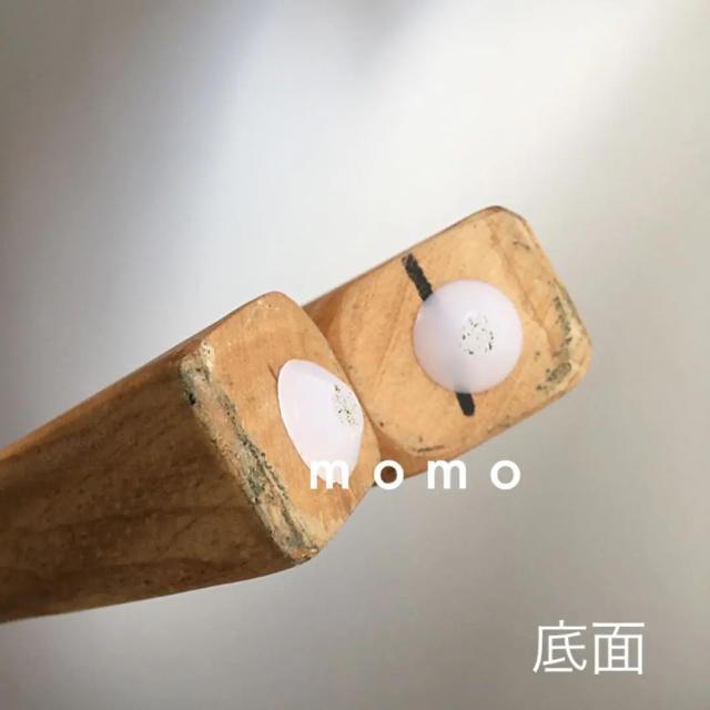 ラタン♡韓国インテリア♡椅子♡北欧ナチュラル♡木製♡チェア♡1人掛け♡折りたたみ インテリア/住まい/日用品の椅子/チェア(ダイニングチェア)の商品写真