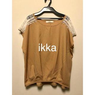 ikka - ikka   刺繍レース プルオーバー M
