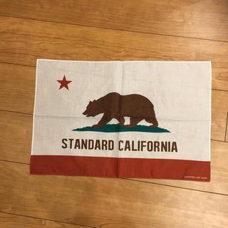スタンダードカリフォルニア(STANDARD CALIFORNIA)の激レア!入手困難スタンダードカリフォルニア長方形バンダナ.新品未使用品(その他)
