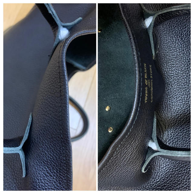 IENA(イエナ)のヤングアンドオルセン トートバッグ ブラックMサイズ レディースのバッグ(トートバッグ)の商品写真
