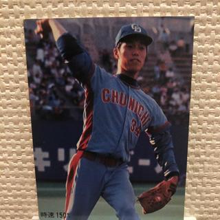 カルビー(カルビー)のプロ野球カード 小松選手(スポーツ選手)