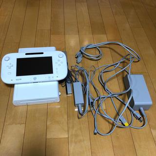 ウィーユー(Wii U)のwiiu 本体セット8G(家庭用ゲーム機本体)