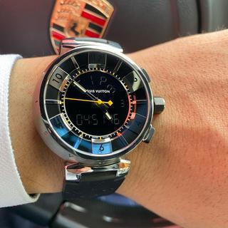 ルイヴィトン(LOUIS VUITTON)のルイヴィトン腕時計 メンズ 新品みたいな超美品!! (腕時計(アナログ))