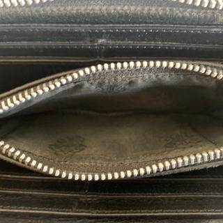 Chrome Hearts - クロムハーツ財布,メンズ ジップセメタリー 3 クロスパッチ ウォレット