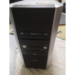 フジツウ(富士通)のジャンクPC  (デスクトップ型PC)