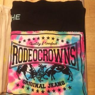 ロデオクラウンズワイドボウル(RODEO CROWNS WIDE BOWL)の新品レディースのブラック※早い者勝ちノーコメント即決しましょう❗️コメントは❌(デニム/ジーンズ)