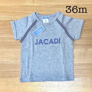 Jacadi - 新品未使用 ジャカディ jacadi 36m 半袖Tシャツ グレー