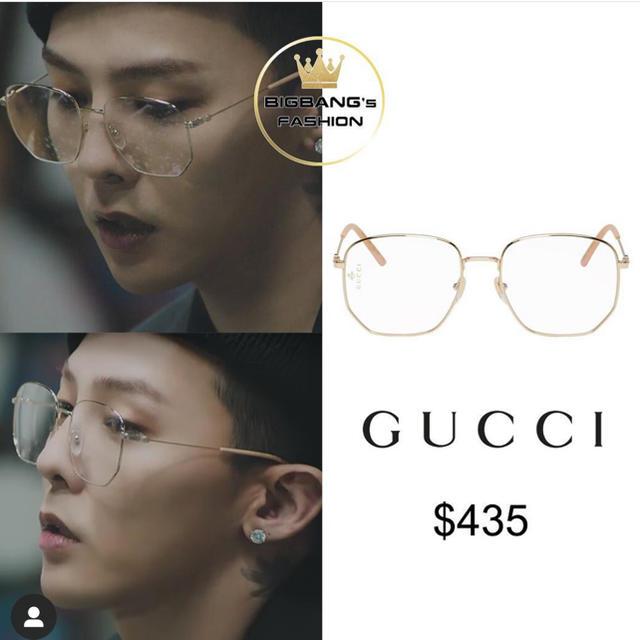 Gucci(グッチ)の限定値下げ中 G-DRAGON着用 GUCCI アイウェア サングラス メンズのファッション小物(サングラス/メガネ)の商品写真