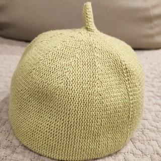 マーキーズ(MARKEY'S)のbabyどんぐり帽子 グリーン 46cm(帽子)
