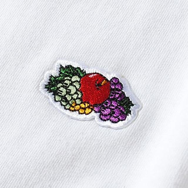 Ron Herman(ロンハーマン)のFruit Of The Loom ロゴTシャツ 白L フルーツオブザルーム メンズのトップス(Tシャツ/カットソー(半袖/袖なし))の商品写真