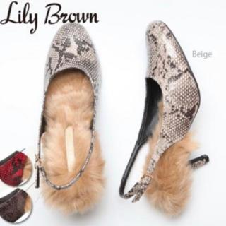 リリーブラウン(Lily Brown)のリリーブラウン パンプス(ハイヒール/パンプス)