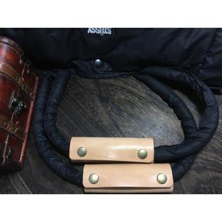特価‼️1個☘即発送OK‼️バッグ持ち手  ナチュラルwild仕様 新品完成品(ドラムバッグ)