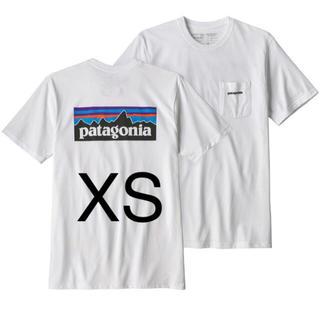 patagonia - パタゴニア P-6ロゴ レスポンシビリティー  ポケット付 ホワイト XSサイズ