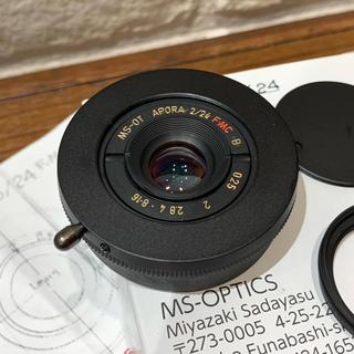 ライカ(LEICA)の宮崎光学 MS-OPTICS Aporia 24mm f2 アポリア24mmf2(レンズ(単焦点))