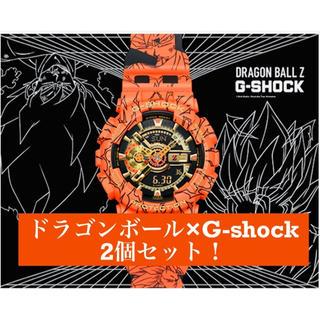 ジーショック(G-SHOCK)の[超人気!]G-SHOCK GA-110JDB-1A4JR  ドラゴンボール2個(腕時計(デジタル))