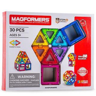 新品 マグフォーマー 30ピースセット ボーネルンド 知育玩具 おもちゃ パズル(知育玩具)