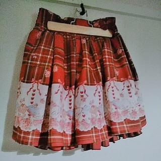 リズリサ(LIZ LISA)の【LIZ LISA チェック柄スカート】(ミニスカート)
